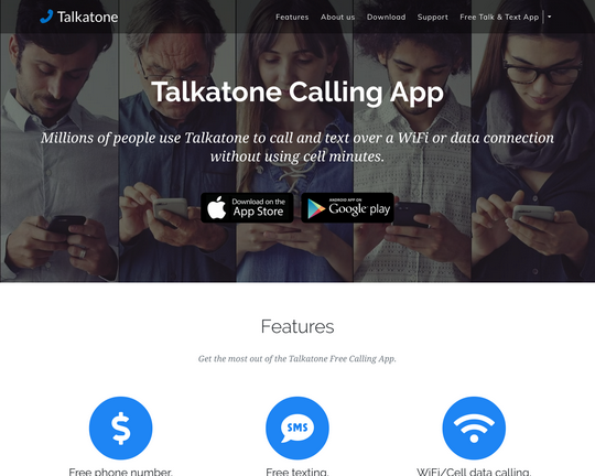 Talkatone Logo